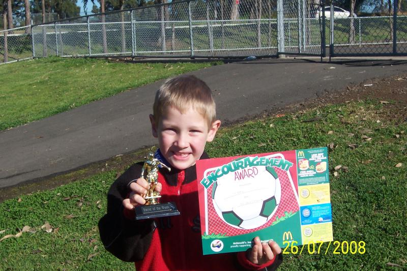 ISAAC WALKER PLAYER OF THE WEEK 26/07/08