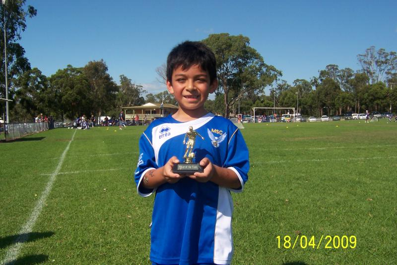player of the match 18/04/09