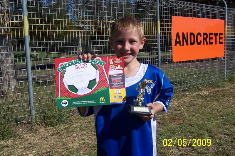 player of the match 02/05/09