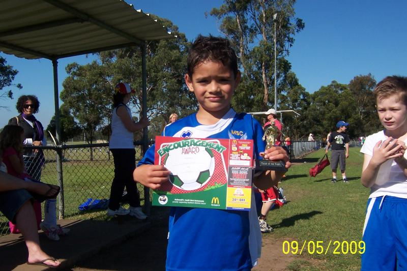 player of the match 09/05/09