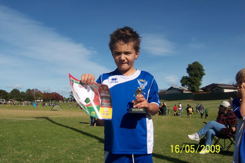 player of the match 16/05/09