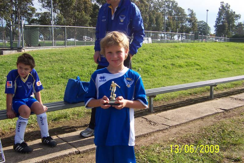 Darcy Pullen Player of the week 13/06/09