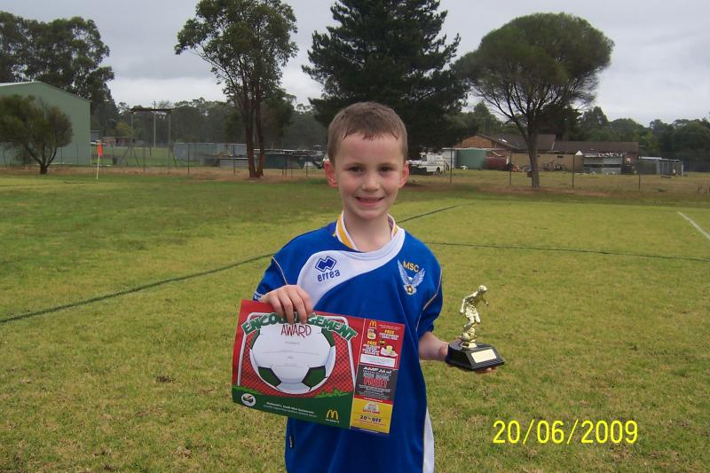 NATHAN CHANDLER. PLAYER OF THE WEEK 20/06/2009