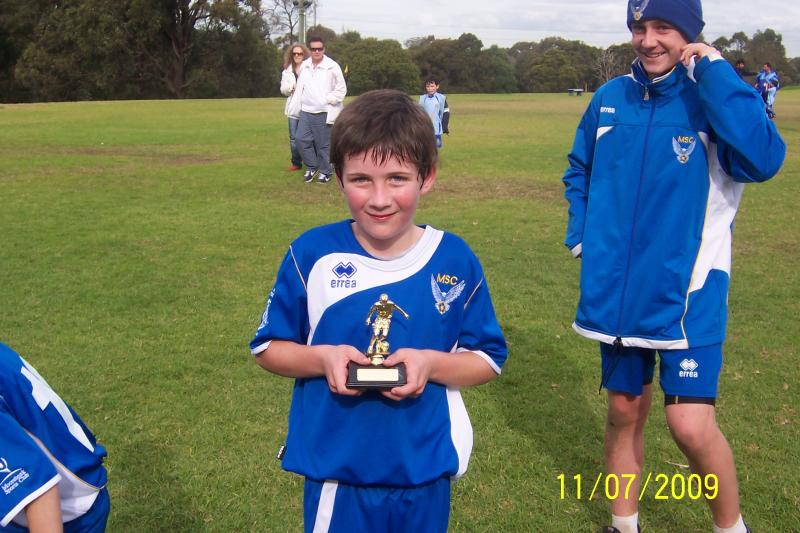BEN ROBINSON PLAYER OF THE WEEK 11/07/09