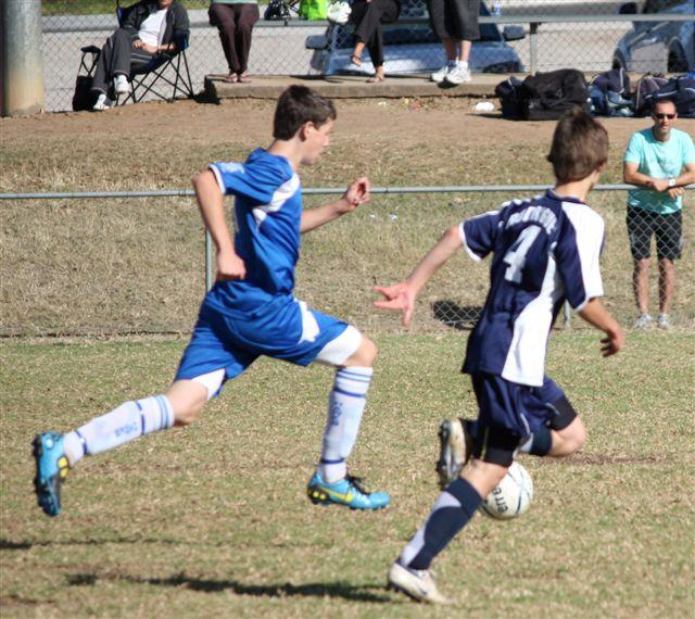 Third goal for moorebank makes it 3-2