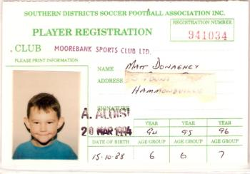 Player's Card 1994
