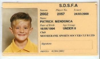 Player's Card 2002